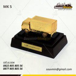 Souvenir Miniatur Kendaraan Truk Gledex